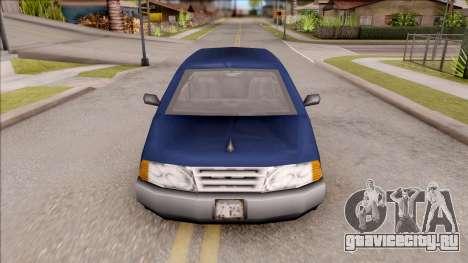 Blista From GTA 3 для GTA San Andreas вид изнутри