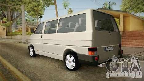 Volkswagen T4 1995 для GTA San Andreas вид слева