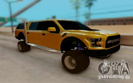 Ford F150 Raptor 4x4 Off-Road для GTA San Andreas
