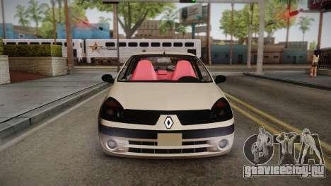Renault Symbol для GTA San Andreas вид справа