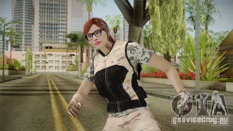 Gunrunning Female Skin v3 для GTA San Andreas