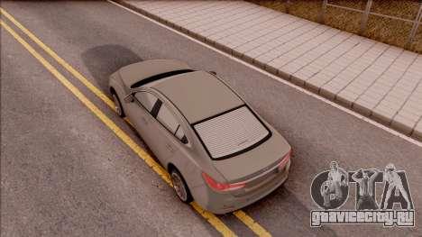 Mazda 6 2016 для GTA San Andreas вид сзади