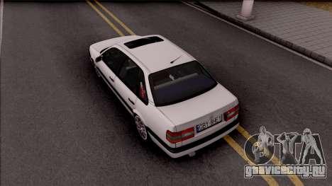 Volkswagen Passat B4 Sedan для GTA San Andreas вид сзади
