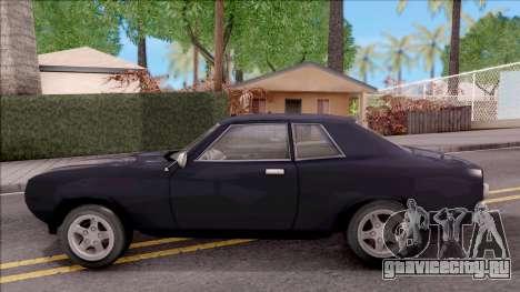 Driver PL Bonsai V.2 для GTA San Andreas вид слева