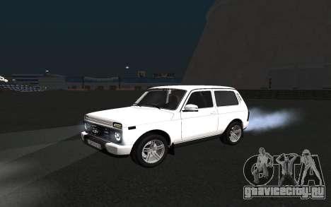 Lada Urban для GTA San Andreas вид слева