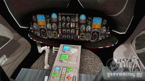 Airbus Eurocopter EC-135 YRP для GTA San Andreas вид сзади