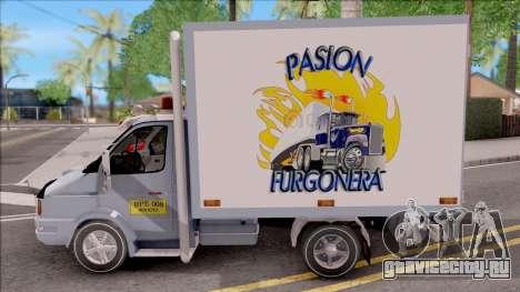 Iveco Daily для GTA San Andreas вид слева