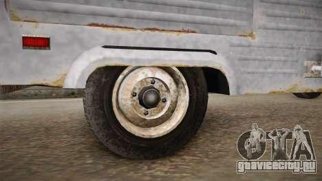 GTA 5 Zirconium Journey Worn IVF для GTA San Andreas вид сзади