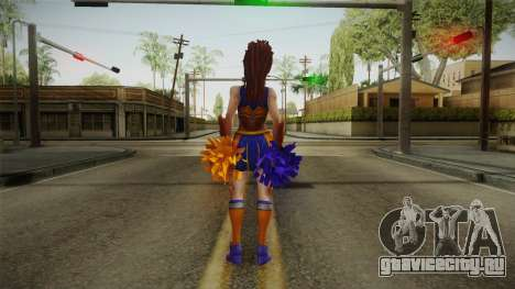 Cheer Captain Kerrigan v2 для GTA San Andreas третий скриншот