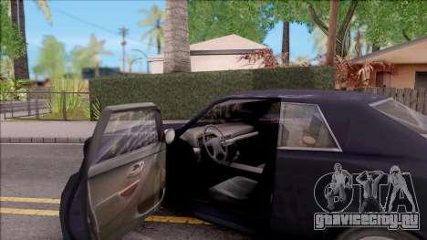 Driver PL Bonsai V.2 для GTA San Andreas вид изнутри