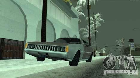 Заснеженные шины машин для GTA San Andreas третий скриншот