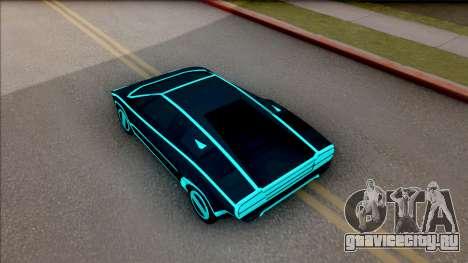 GTA V Pegassi Automan для GTA San Andreas вид сзади