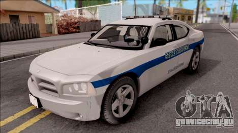 Dodge Charger San Andreas State Troopers 2010 для GTA San Andreas