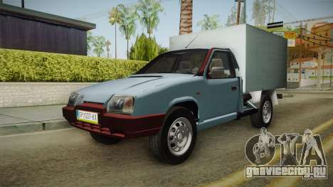 Škoda Favorit Truck DV для GTA San Andreas вид сзади слева