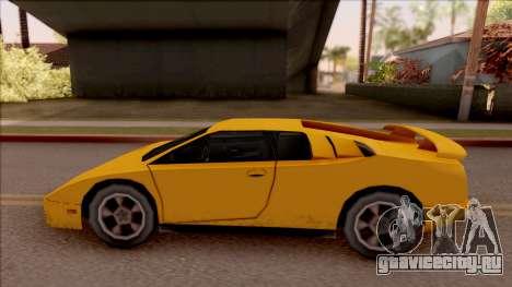 Pegassi Volpe 1994 для GTA San Andreas вид слева