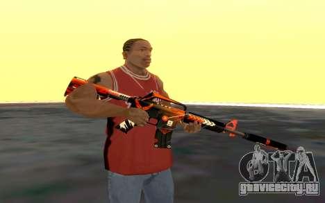 M4 Alliance для GTA San Andreas второй скриншот