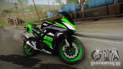 Kawasaki Ninja 300 KRT для GTA San Andreas