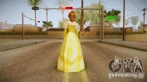 Beauty and the Beast - Belle Dress для GTA San Andreas третий скриншот