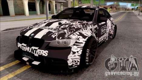 BMW M3 E92 2B of NieR: LB Performance для GTA San Andreas
