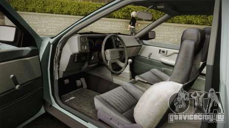 Toyota Corolla AE86 для GTA San Andreas вид сбоку