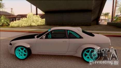 Nissan Skyline R33 Rocket Bunny v2 для GTA San Andreas вид слева