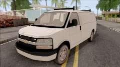 Chevrolet Express Undercover Surveillance Van для GTA San Andreas