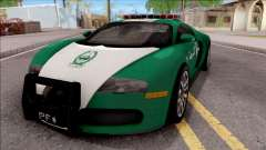 Bugatti Veyron Dubai High Speed Police
