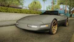 Chevrolet Corvette C4 Cabrio Drift 1996 для GTA San Andreas