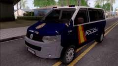 Volkswagen Transporter Spanish Police