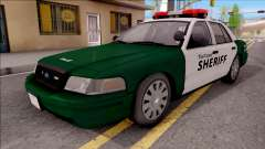 Ford Crown Victoria Flint County Sheriff 2010