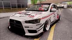 Mitsubishi Lancer Evolution X KC Itasha