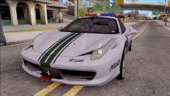 Ferrari 458 Italia Dubai High Speed Police