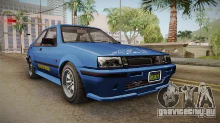 GTA 5 Karin Futo 4-doors IVF для GTA San Andreas