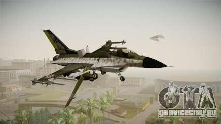 F-16A Luftwaffe WW2 для GTA San Andreas