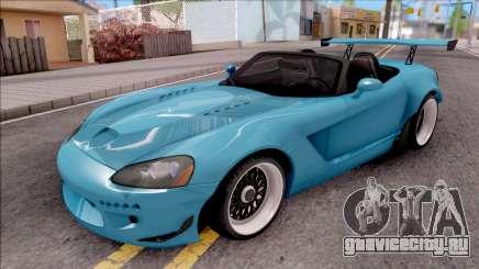 Dodge Viper SRT-10 Widebody 2003 для GTA San Andreas