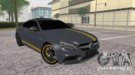 Mercedes-Benz C63 Coupe Edition 1 для GTA San Andreas
