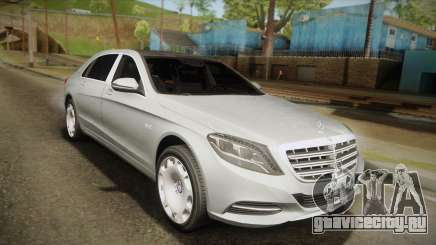 Mercedes-Maybach S600 X222 для GTA San Andreas