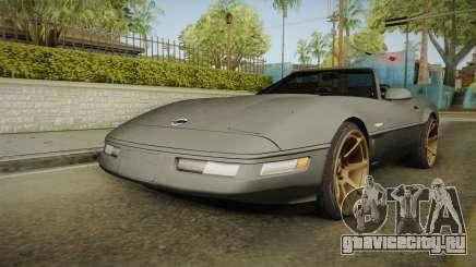 Chevrolet Corvette C4 Cabrio Drift 1996 для GTA San Andreas