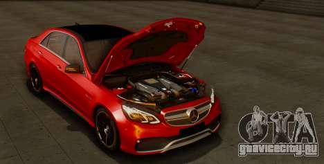 Mercedes-Benz E-class AMG IV для GTA San Andreas вид сверху