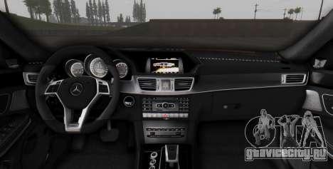 Mercedes-Benz E-class AMG IV для GTA San Andreas двигатель