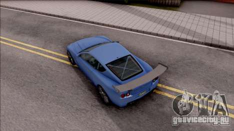 Dewbauchee Super GT LT для GTA San Andreas вид сзади