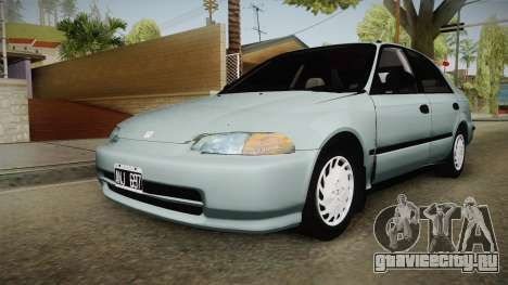 Honda Civic 1.5 LX 1995 для GTA San Andreas
