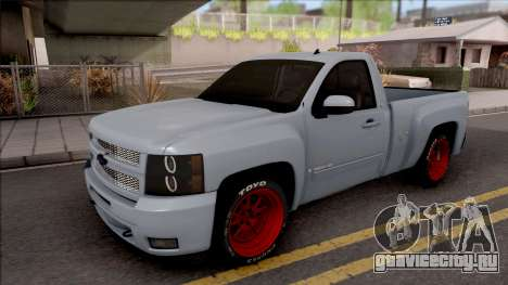 Chevrolet Silverado Single Cab для GTA San Andreas