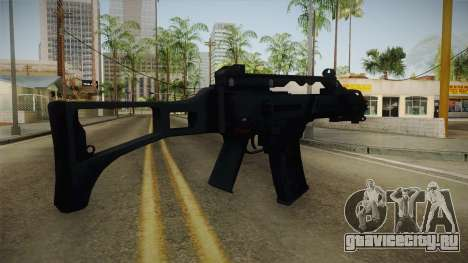 Mirror Edge HK G36C для GTA San Andreas