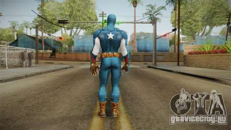 Marvel Heroes - Captain America для GTA San Andreas третий скриншот