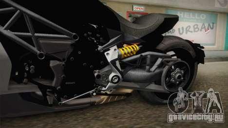 Ducati XDiavel S 2016 HQLM для GTA San Andreas вид изнутри