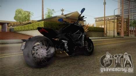 Ducati XDiavel S 2016 HQLM для GTA San Andreas вид сзади слева