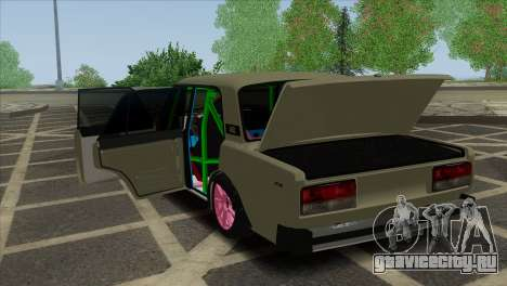 ВАЗ 2105 Customs Боевая Классика для GTA San Andreas вид сверху