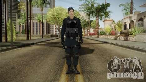 Turkish Riot Police Officer - Long Sleeves для GTA San Andreas второй скриншот