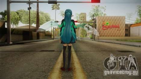 Asuna Yuuki School Uniform v4 для GTA San Andreas третий скриншот